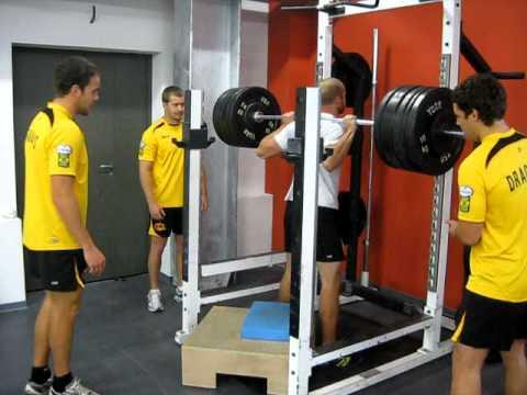 Squat 140 kg @ 81kg body weight (309lb @ 178 lb)