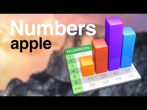 Apple Numbers- average function Quick Tutorial how it works, how to get averages calculate