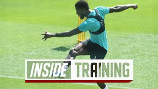 Inside Training: Brilliant goals as group training returns to Melwood