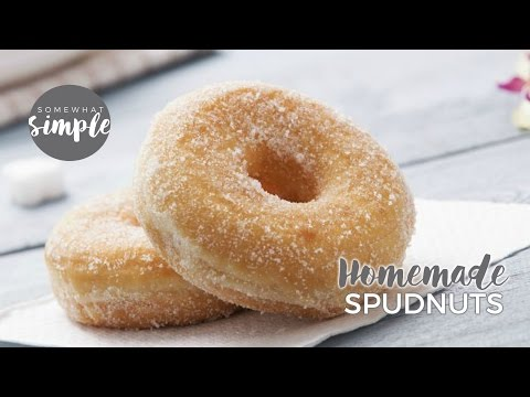 How to Make Spudnuts- Donuts with Mashed Potatoes