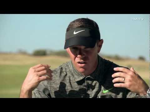 TrackMan session with Justin Rose and Sean Foley