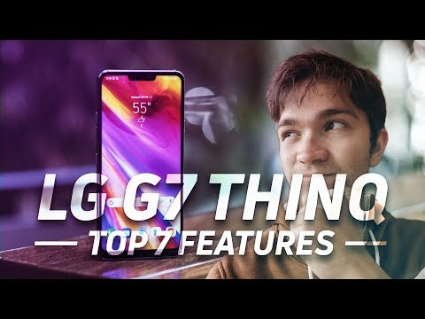 Top 7 LG G7 ThinQ Features!