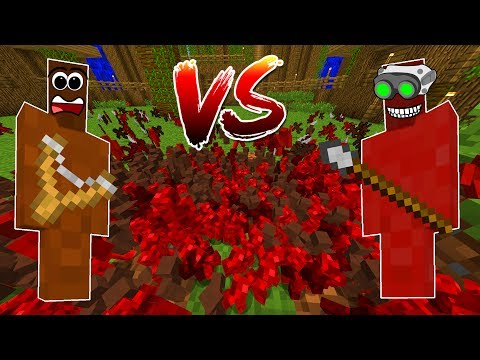 Minecraft HUNTER CLAY SOLDIERS! • HUNTERS VS MONKEYS!