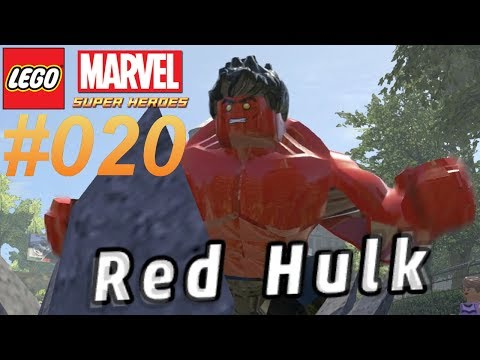 LEGO MARVEL SUPER HEROES #020 Red Hulk ★ Let's Play LEGO Marvel Super Heroes [Together/Deutsch]