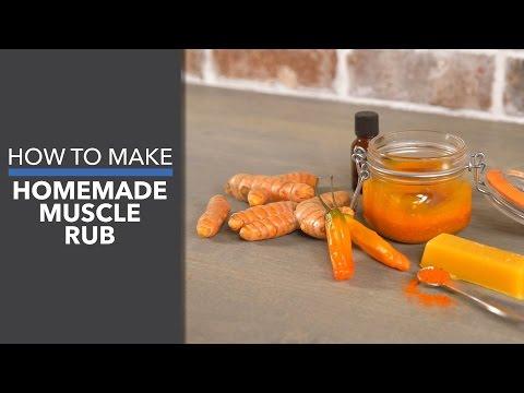 How to Make Homemade Muscle Rub