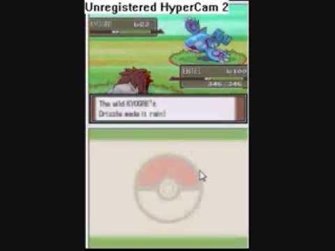 Pokemon Platinum gets cresselia giratina deoxys latias latios  part 1