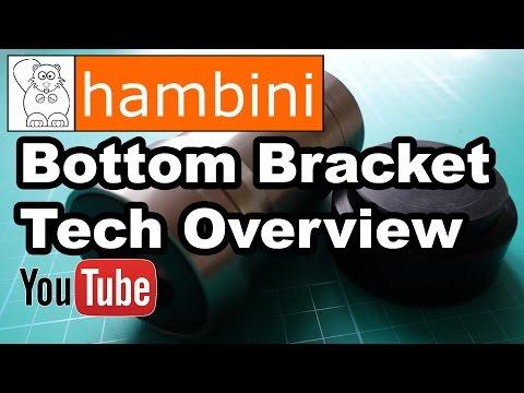 Hambini PF30 BBright BB30 Bottom Bracket Technical Presentation (Shimano Fit)