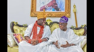 Sanwo Olu,Gani adams,Obasanjo, Ogun State Governor &Ooni of Ife steps in to honor Baba Ijebu Owner