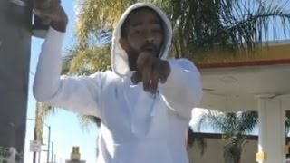 Nipsey Hussle Calls Out YG And Meek Mill To A Dirt Bike Faceoff