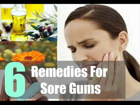 6 Sore Gums Home Remedies