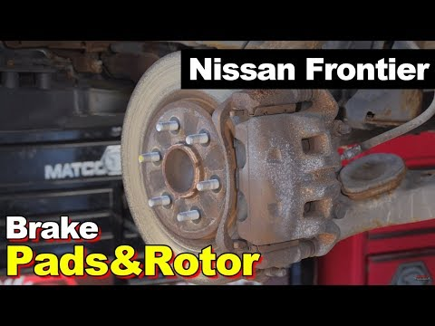 2005-2015 Nissan Frontier Front & Rear Brake Pad & Rotor