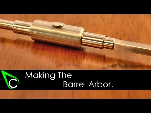 How To Make A Clock In The Home Machine Shop - Part 8 - Making The Barrel Arbor