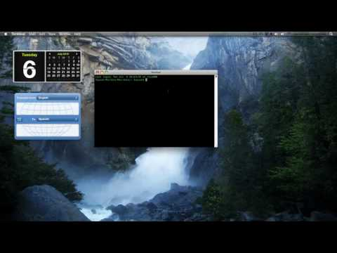 How To Get Your Dashboard Widgets On Your Desktop On A Mac
