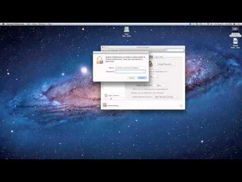 How to change you Mac System Password.