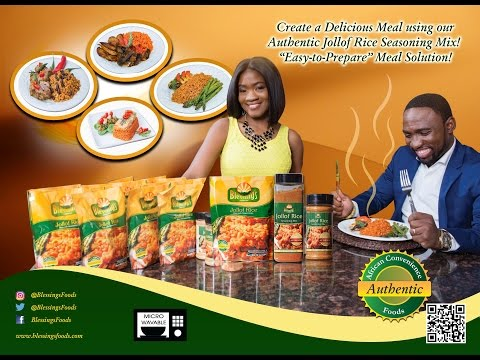 Jollof Rice - The End of Instant Noodles - Blessings Foods