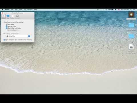 how to find my computer icon on Mac OS X