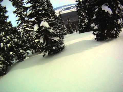 Ski Touring in the Tetons - 25 Short