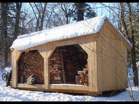 Firewood Storage Eight Cords 8x20 Woodbin