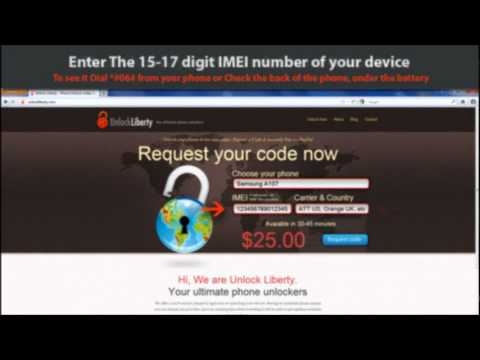 How to unlock Samsung Exhibit 2 ii 4g