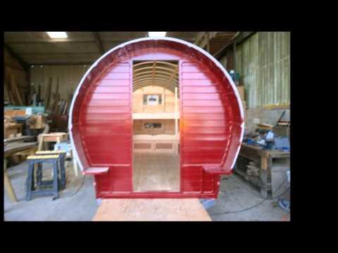 chris ward building a bowtop wagon