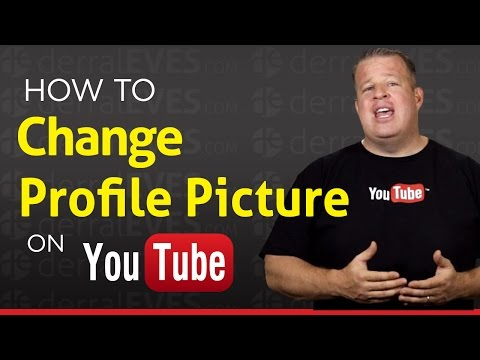 How to Change YouTube Profile Picture Icon - Google+ Avatar