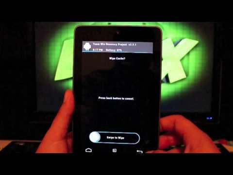 How To Install Custom Kernel on Nexus 7 Overclock