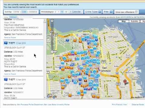 Neighborhood crime statistics