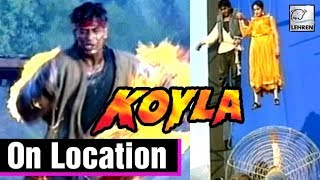 The Making Of The Movie Koyla   Madhuri Dixit, Shahrukh Khan