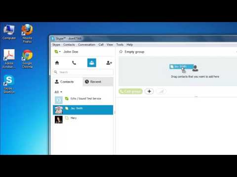 How to Make Group Chat in Skype
