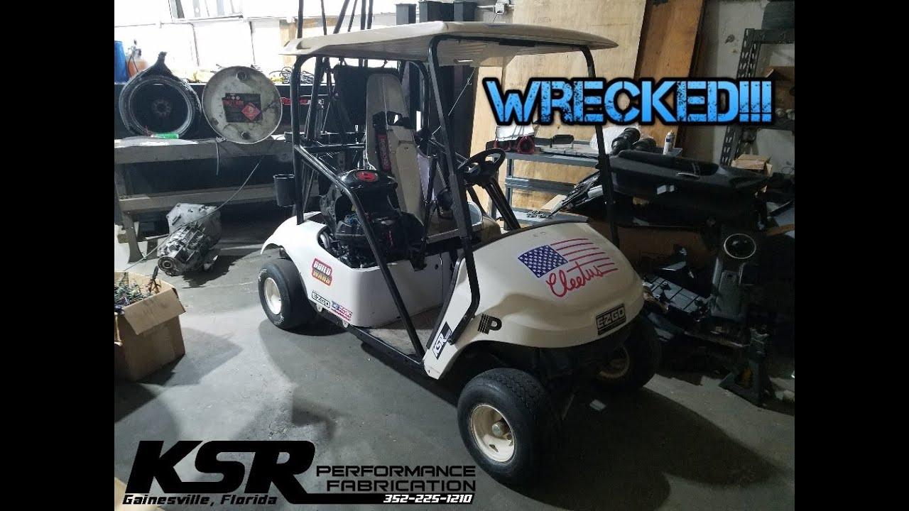 Fixing the Cleetus McFarland Golf Cart Episode 1