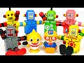 Let39s Find Little Mimi39s Dog With A Robot Dolls And Velcro Robot PinkyPopTOY