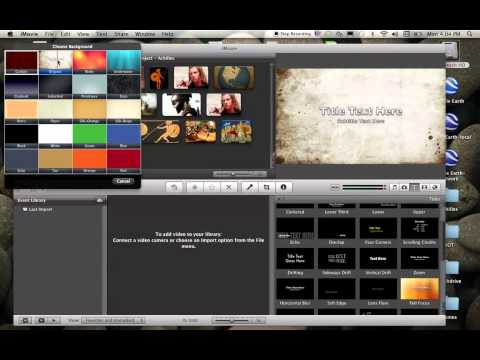How to Create a Title Slide in iMovie