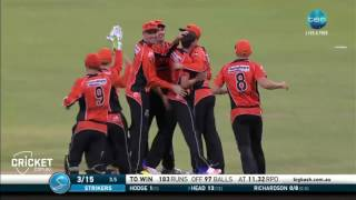 Highlights: Scorchers v Strikers - BBL06