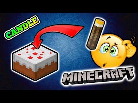 Minecraft PE: How to make a Cake with Candle