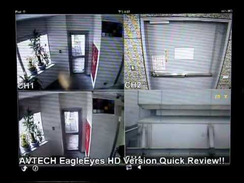 EagleEyes HD for iPad Quick review_AVTECH_EagleEyes