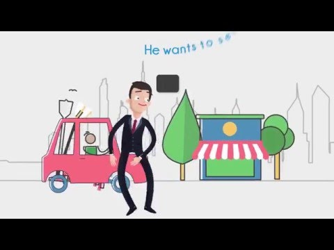 Flat Animated Promotional Video Production