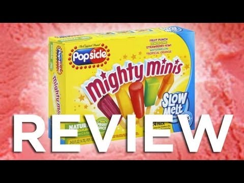 Popsicle Slow Melt Mighty Minis Video Review: Freezerburns (Ep509)