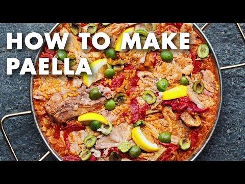 How to Make Paella - Technique Video