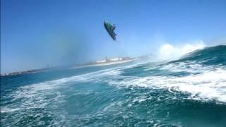 Jet Ski wave jumping