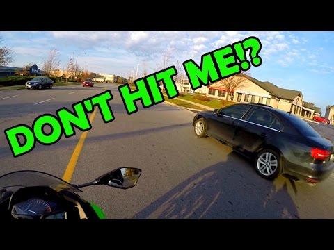 WHAT A WEDGIE & You honking at me!? ToroMoto | Ninja 300