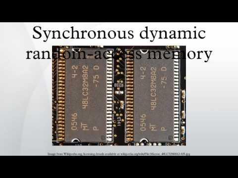 Synchronous dynamic random-access memory