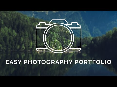 Easy Photography Portfolio - How to setup a photography portfolio with a free WordPress plugin