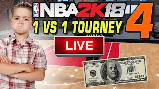 NBA 2K18 LIVE 1 vs 1 Tournament! #4 11/12/2017