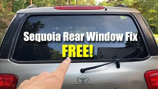Sequoia Rear Window stopped working