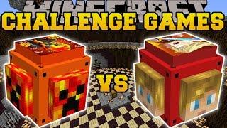 Minecraft: PRESTONPLAYZ VS LACHLAN CHALLENGE GAMES - Lucky Block Mod - Modded Mini-Game