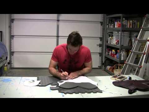 Magneto cosplay breastplate tutorial 01