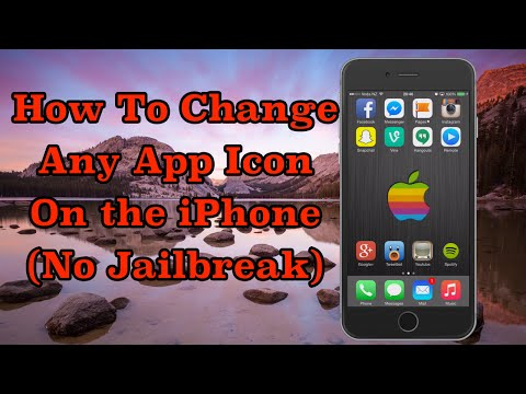How To Change Any App Icon On The iPhone (No Jailbreak)