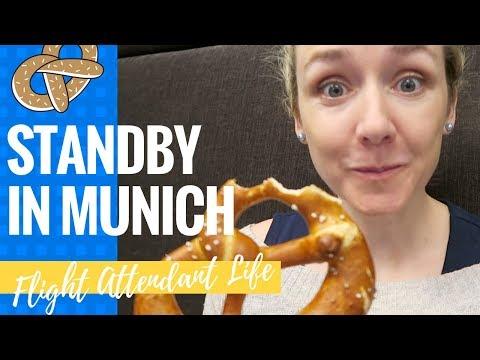 WORKING STANDBY IN MUNICH | Flight Attendant Vlog 20 |