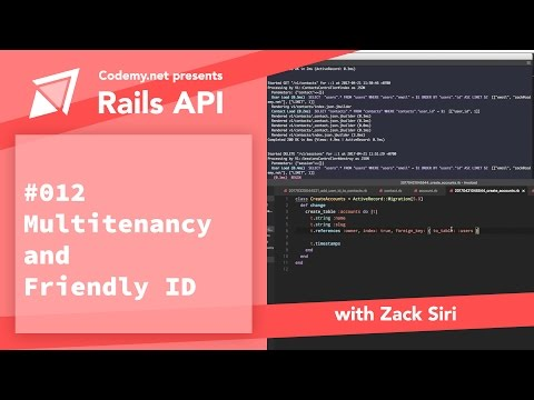 Rails API: Multiple Accounts and Friendly ID - [012]