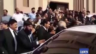 Sabiq wazeer e azam Nawaz Sharif  ki ehtasab adalat mein paishi